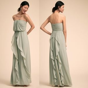 Anthropologie BHLDN Cove Dress (Morning Mist)